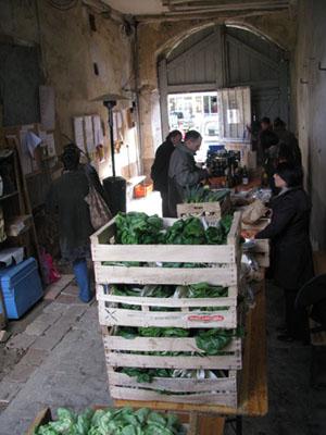 Distribution des paniers le vendredi soir